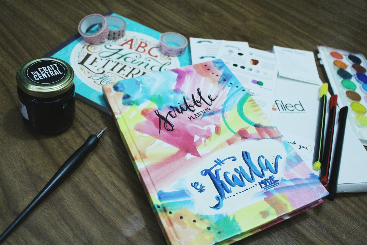 Scribble 2016 Planner: Ready, Set, Plan!